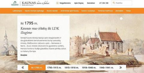 """Elektroninis žinynas """"Kaunas: datos ir faktai"""""""