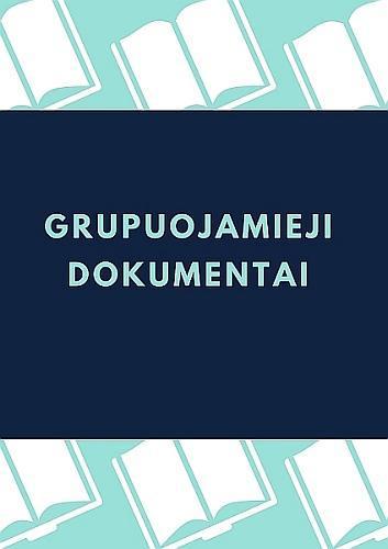 Grupuojamieji dokumentai