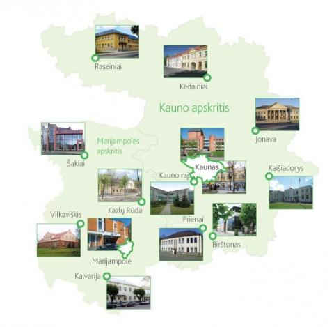 Kraštotyros sklaida Kauno regiono viešųjų bibliotekų interneto svetainėse