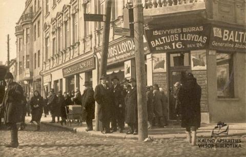 """Vaizdo pranešimas """"Kaip lietuviškas žodis skynėsi kelią Kaune 1918–1940 m."""""""