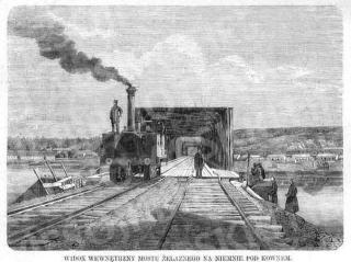 Žaliojo (geležinkelio) tilto per Nemuną vaizdas