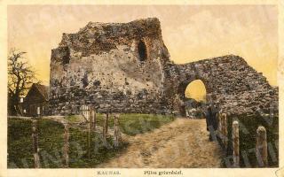 Pilies griuvėsiai. 1930 m.