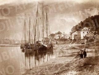 Aleksotas. Kauno priemiestis. XIX a. 2-oji pusė