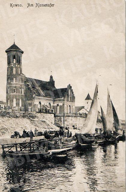 Hanzos laikais klestėjusio Kauno uosto reikšmė nesumenko ir vėlesniais metais