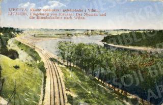 Kauno apylinkės: geležinkelis į Vilnių. 1926–1927 m.