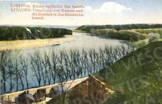 Kauno apylinkės ties tuneliu. 1926–1927 m.