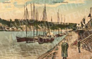 Taip atrodė Kauno prieplauka ir krantinė XIX a. pab.