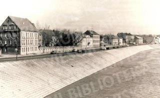 1979 m. rekonsruota Nemuno krantinė. Apie 1988 m.