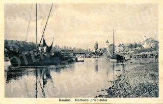Kaunas. Nemuno prieplauka. Apie 1925 m.
