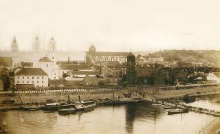 Prieplauka. Apie 1895 m.