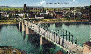 1930 01 11 atidarytas Aleksoto (Vytauto Didžiojo) tiltas per Nemuną. 1936–1936 m.