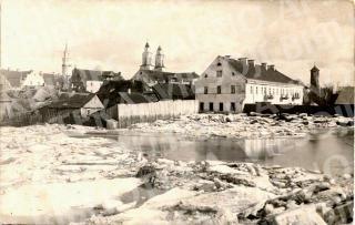 Potvynis senamiestyje. 1926 m.
