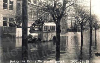 1931 m. balandžio 15 d. potvynis Maironio gatvėje