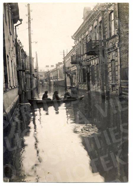 1931 m. potvynis Kauno senamiestyje