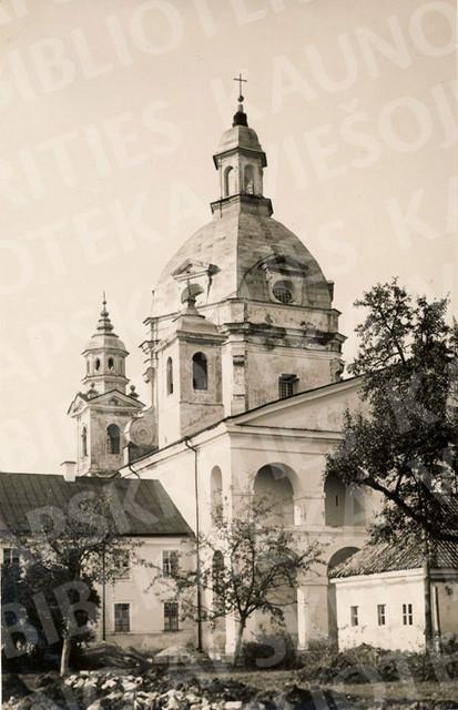 Pažaislio Švč. Mergelės Marijos Apsilankymo bažnyčia. XX a. 3 deš.
