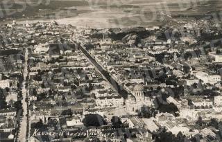Kauno panorama. 1927 m.