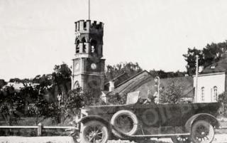 Senojo Karo muziejaus bokštas. Apie 1928 m.