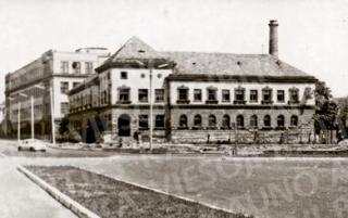 Buvusi pirtis Jonavos g. prie Kauno pilies aikštelės