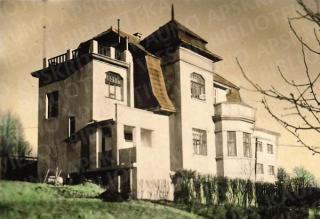 Antano Busilo namas. Apie 1931–1937 m.