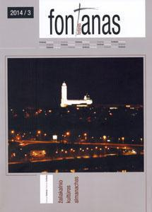 Fontanas : Žaliakalnio kultūros almanachas / redakcinė kolegija: Alfas Pakėnas - redaktorius ... [et al.]. - [Nr.] 3 (2014) / sudarytoja Regina Markevičienė. - 2014. - 120, [2] p., įsk. virš. : iliustr., faks., portr.