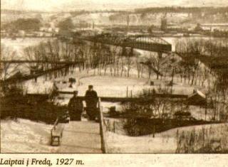 Laiptai į Fredą. 1927 m.