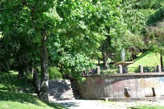 Kauko laiptai ir fontanas. 2009 m.