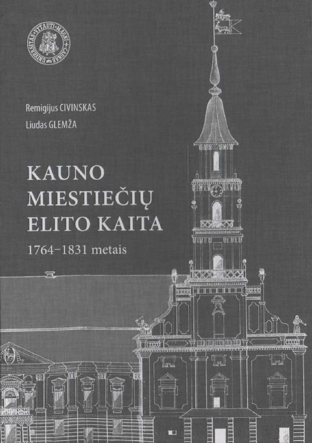 Kauno miestiečių elito kaita 1764–1831 metais