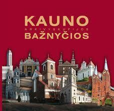 Kauno arkivyskupijos bažnyčios. - [Kaunas] : Terra publica, [2010] (Kaunas : Arx Baltica). - 227, [1] p. : iliustr., žml.