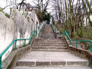 Laiptai į Vaižganto gatvę. 2005 m.