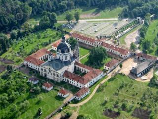 Pažaislio Švenčiausiosios Mergelės Marijos Apsilankymo bažnyčios ir kamaldulių vienuolyno ansamblis. 2011 m.