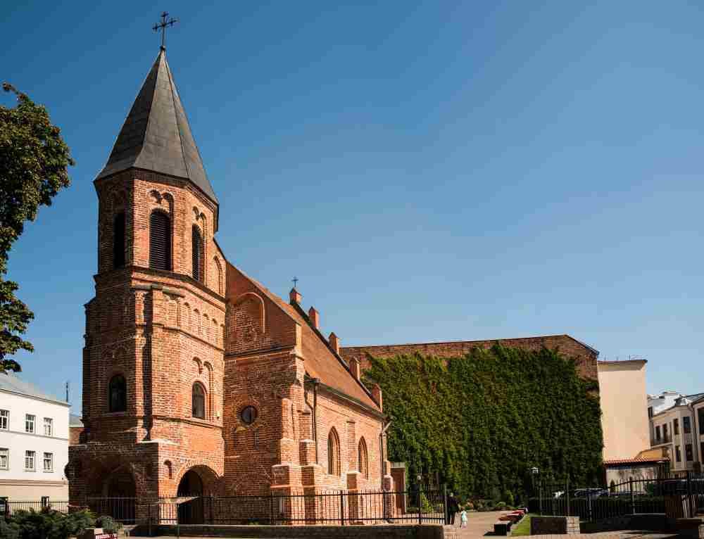 Šv. Gertūdos bažnyčia. Arvydo Čiukšio nuotrauka