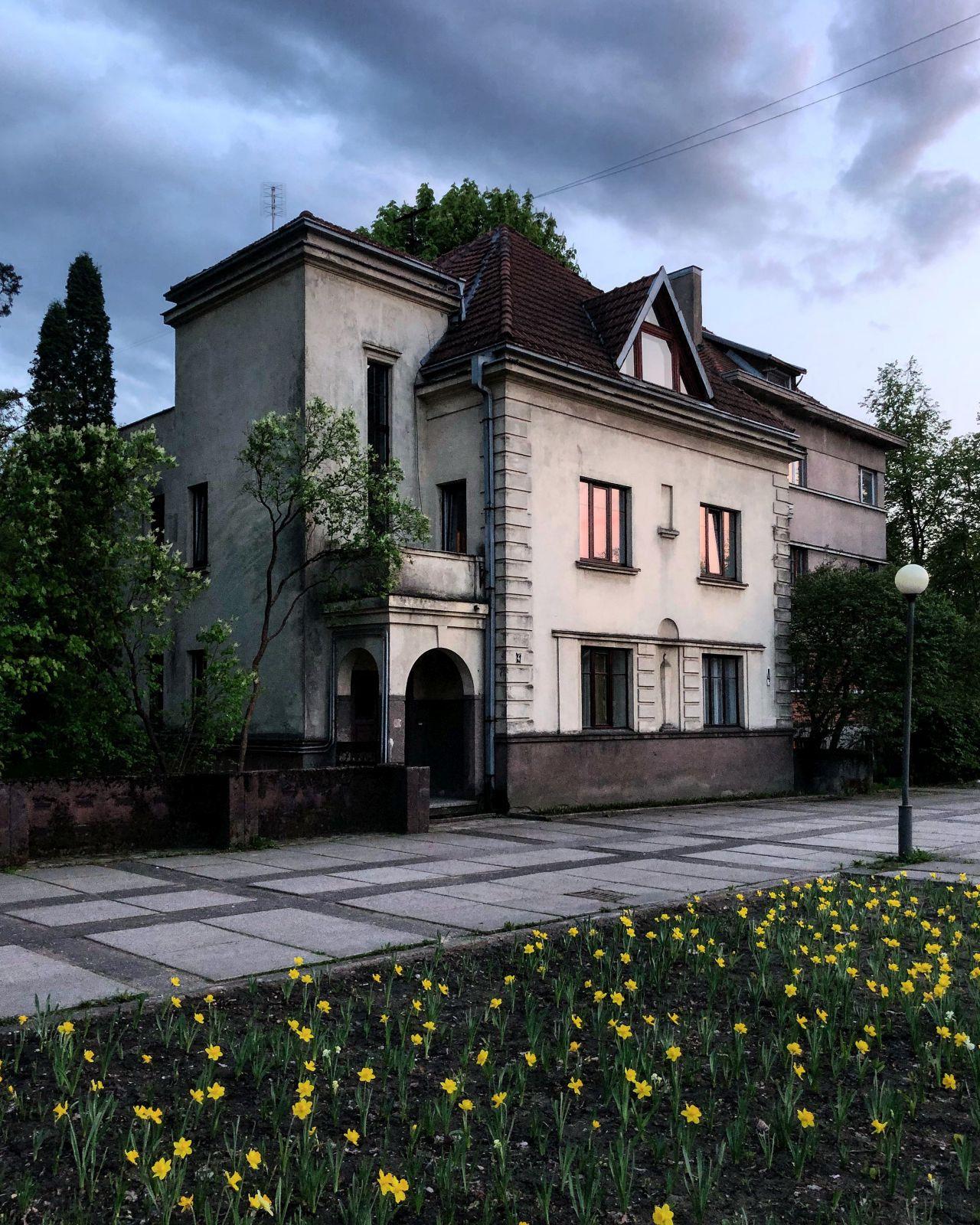 Jono ir Sofijos Sližių namas. Arch. S. Kudokas. Sporto g. 4